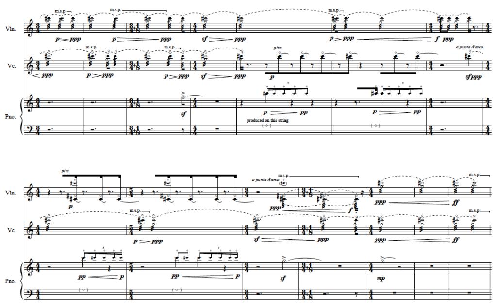 Murmur Trio for Piano, Violin, and Cello